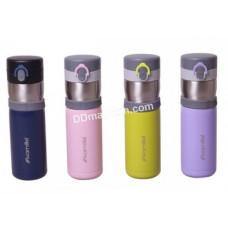 Термос-бутылка 400 мл Kamille из нержавеющей стали (4 цвета) KM-2014