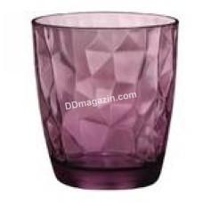 Стакан Bormioli Rocco Diamond Rock purple 300мл, низкая