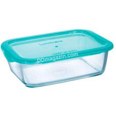 Емкость Luminarc Keep`n Box Lagoon для еды прямоугольная 1220 мл
