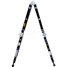 Лестница шарнирная комбинированная Aloft 4*3 ступени, высота 3,76 м