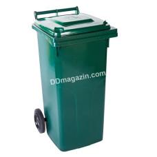 Бак мусорный 120 л. (зеленый) 122064