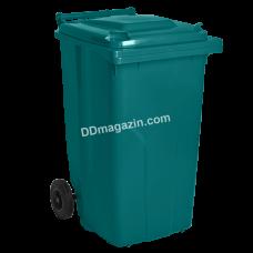 Бак мусорный 240 л (зеленый) 122068