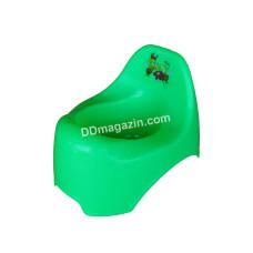 Горшок детский Горизонт (зеленый)