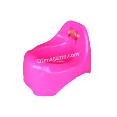 Горшок детский Горизонт (розовый)
