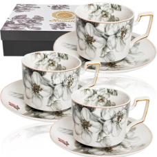 Сервиз чайный S&T Симфония 12 пр (чашка-230 мл, блюдце-15 см) S&T (1756)