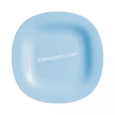Тарелка Luminarc Carine Light Blue десертная квадратная 19см 4245P