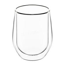 Набор стаканов Ardesto с двойными стенками, 250 мл, h-9,5 см, 2шт, Боросиликатное стекло AR2625G