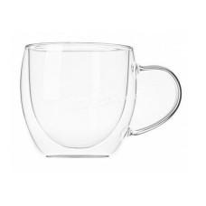 Набор чашек Ardesto 250 мл, h-8,2 см, с двойными стенками, 2шт, Боросиликатное стекло AR2625GH