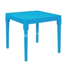 Стол детский 51*51см, h-47 см (голубой) 100025