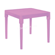 Стол детский 51*51см, h-47 см (розовый) 100025