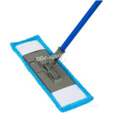 Швабра - полотёр покрытия, микрофибра, Dreamland, рукоятка 110 см (голубая)