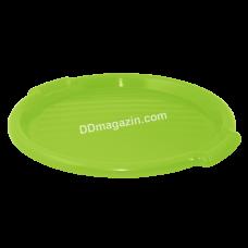 Поднос круглый Алеана d-38,8 см*2,5 см (оливковый) 167098