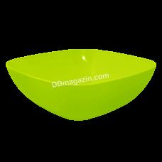Тарелка глубокая 15*5,5 см (оливковый)167061