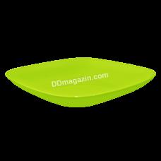Тарелка подставная 19*19*2,8см (оливковый)167062