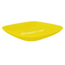 Тарелка подставная 19*19*2,8см (темно-желтый)167062