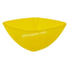 Салатница глубокая 18*18*7.5 см (желтый)168002