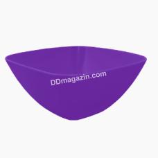 Салатница глубокая 18*18*7.5 см (темно-сиреневый) 168002