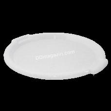 Поднос круглый Алеана d-38,8 см*2,5 см (белая роза) 167098