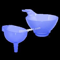Лейка-воронка средняя (фиолетовая прозрачная) 168063
