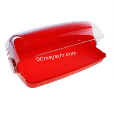 Хлебница 40*25*17 см (красный)