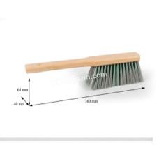Щетка для сметания с ручкой, 37*4 см, нейлон-полипропилен