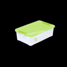 "Контейнер ""Smart Box"" Practice 1,7 л. (_Пр. / Оливк. / Оливк.) 126077"