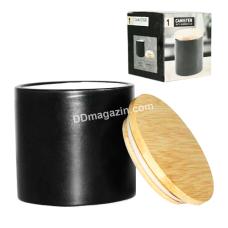 Ёмкость для сыпучих продуктов S&T черная 500 мл (2244-08)
