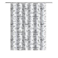 Шторка для ванной комнаты и душа, с кольцами с Peva материала, Dariana, XRQ-RP-438, 180 * 180см