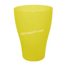 Стакан 0,5 л (жёлтый прозрачный) 167002