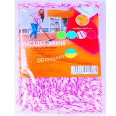 Запаска к швабре - полотёр 42*10 см Eco Fabric, микрофибра, премиум