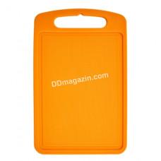 Доска кухонная для нарезки 25*15 см (светло-оранжевая) 168027