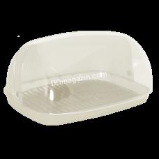Хлебница 36*27*18 см (белая роза) 167081