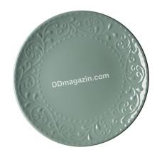 Тарелка десертная Ardesto Olbia, 19 см, Green Bay, керамика AR2919GC