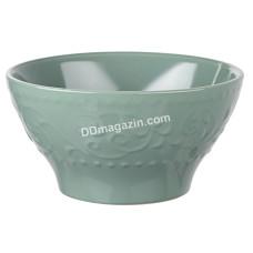 Салатник керамический Ardesto Olbia, 14 см, Green Bay AR2914GC