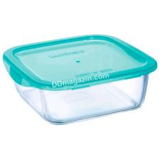 Емкость Luminarc Keep`n Box Lagoon для еды квадратная 1220 мл с крышкой 5520P