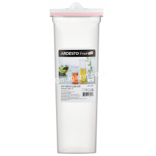 Контейнер для масла Ardesto Fresh, 1 л, розовый, пластик