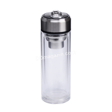 Термостойкая бутылка с двойной стенкой S&T 320 мл (металлическое ситечко)