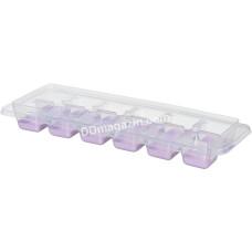 Форма для льда Ardesto Fresh, с крышкой, лиловый, силикон, пластик AR1101LP