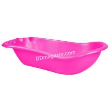 Ванночка детская 100*50*27 см (темно-розовая) 122074
