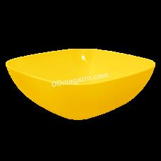Тарелка глубокая 15*5,5см (темно-желтый)167061
