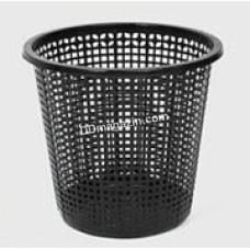 """Корзина для мусора """"Сетка"""" черная"""