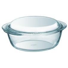 Кастрюля стеклянная Pyrex Essentials 3,2л., с крышкой