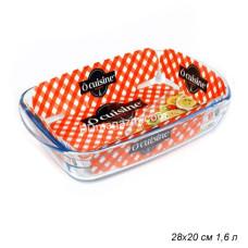 Форма Pyrex O Cuisine прямоугольная 28 * 20см стеклянная
