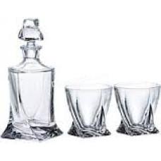 Подарочный набор Bohemia Quadro (стопки 55мл водка 6шт, графин 420мл) 7пр. 99999 99A44 117 BOH