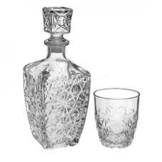 Подарочный набор Bormioli Rocco Dedalo для виски 7предметов