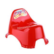 Горшок детский Elif Plastic (красный)