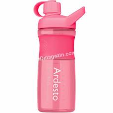 Бутылка для воды Ardesto 800 мл, розовая, тритан AR2203TR