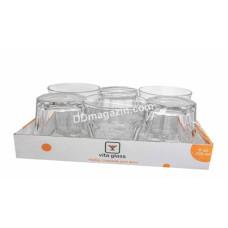Набор стаканов Vita Glass Marocco, 230 мл 6шт