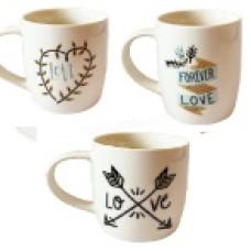 Чашка Бланко Вечная любовь Vittora 360мл