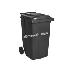 Бак мусорный 240 л (темно-серый) 122068